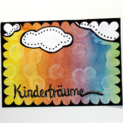 Art Journaling: Kinderträume