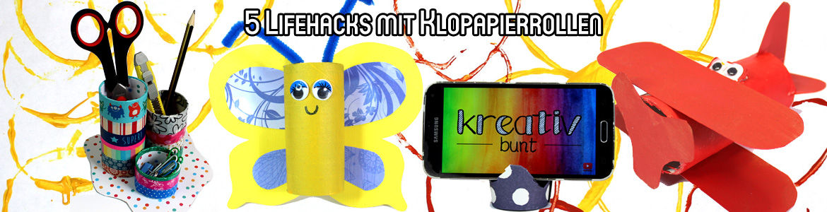 Top 5 Lifehacks Mit Klopapierrollen Upcycling Stempel