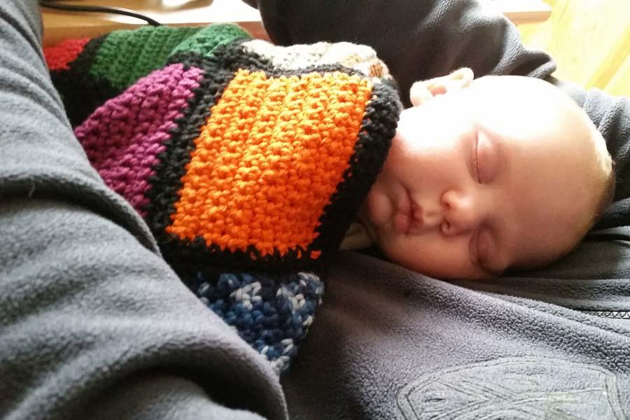 Upcycling Für Wollreste Babydecke Häkeln Oder Stricken Kreativbunt