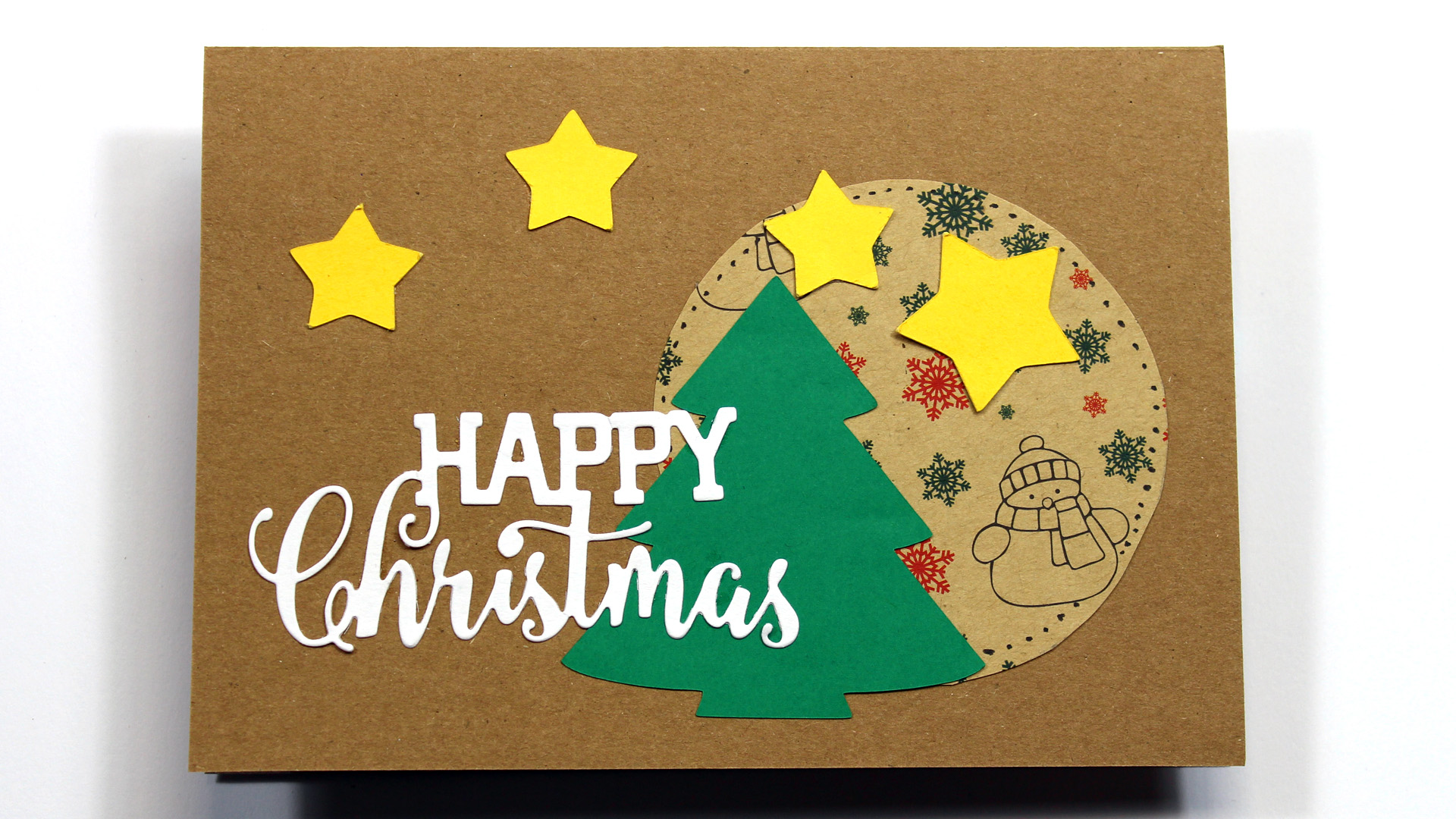 weihnachtskarten gestalten einfache kreative ideen zur. Black Bedroom Furniture Sets. Home Design Ideas
