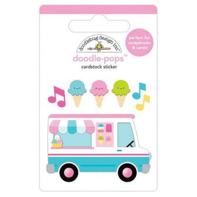 Doodlebugs Sweet Summer Doodle-Pops -  Ice Cream Truck