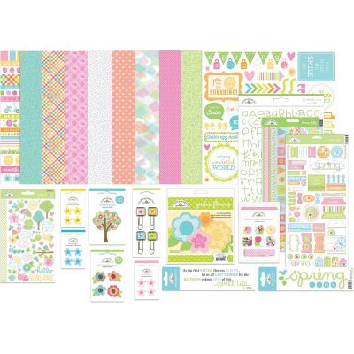 Doodlebugs Simply Spring Value Bundle - Simply Spring