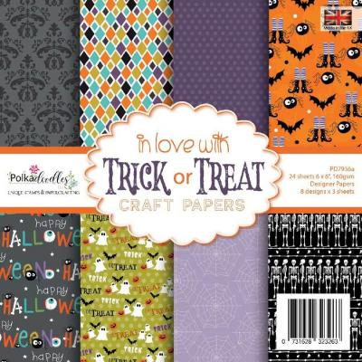 Polkadoodles Paper Pack - In Love with Trick or Treat
