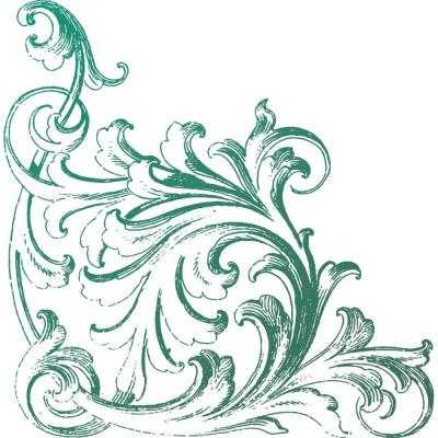 Couture Creations Clear Stamp - Cornice