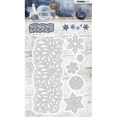 Studio Light Snowy Afternoon Embossing Die - Nr. 219