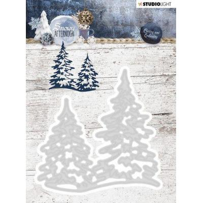 StudioLight Snowy Afternoon Embossing Die - Nr. 218