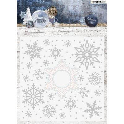StudioLight Snowy Afternoon Embossingfolder With Die Cut - Nr. 02