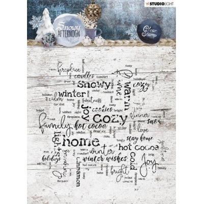 StudioLight Snowy Afternoon Clear Stamp - Nr. 400