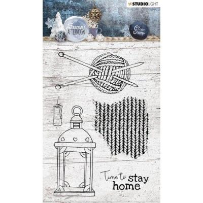 StudioLight Snowy Afternoon Clear Stamps - Nr. 398
