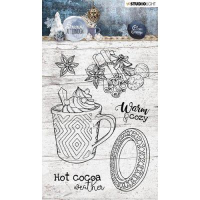 StudioLight Snowy Afternoon Clear Stamps - Nr. 396