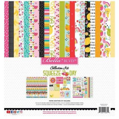Bella Blvd Squeeze The Day Designpapier - Collection Kit