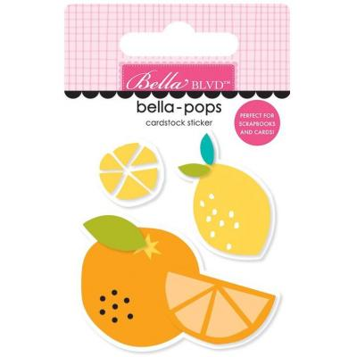 Bella Blvd Squeeze The Day Sticker - Juicy