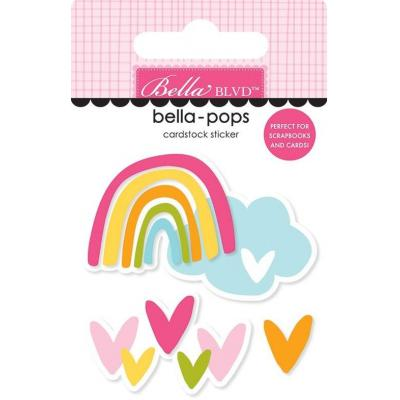 Bella Blvd Squeeze The Day Sticker - Follow The Rainbow
