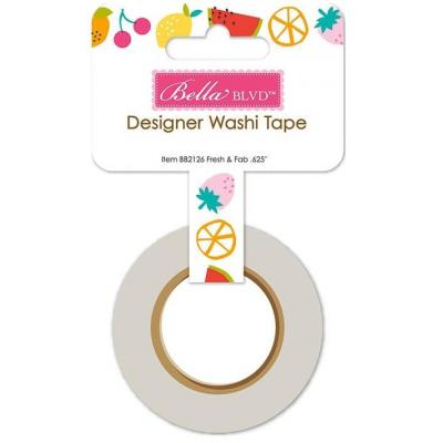 Bella Blvd Squeeze The Day Washi Tape - Fresh & Fab
