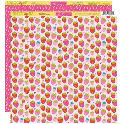 Bella Blvd Squeeze The Day Designpapier - So Berry Sweet