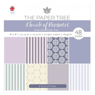 Creative Expressions Paper Pad - A Touch of Purple