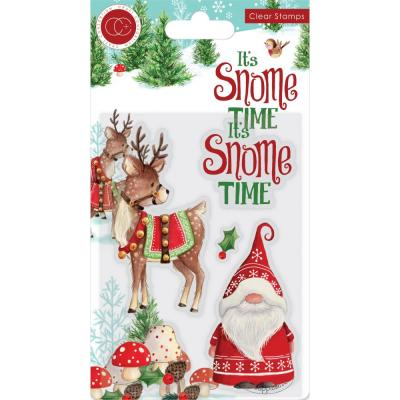 Craft Consortium  It's Snome Time Clear Stamps - It's Snome Time