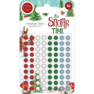 Craft Consortium  It's Snome Time - Enamel Dots