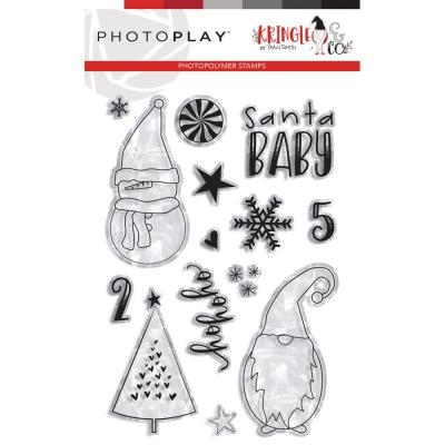PhotoPlay Kringle & Co Clear Stamps - Ho Ho Ho