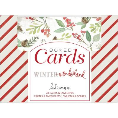 Heidi Swapp Winter Wonderland Karten - Cards and Envelopes