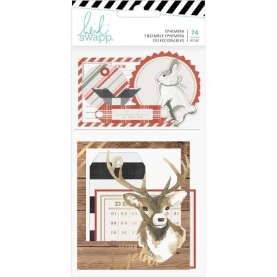 Heidi Swapp Winter Wonderland Die Cuts - Ephemera