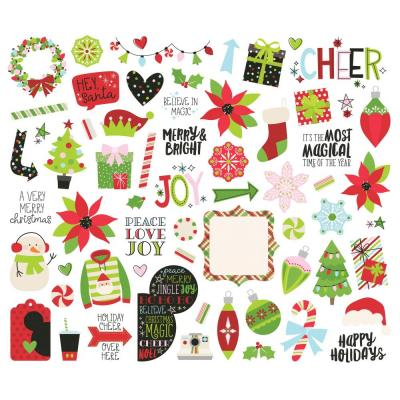 Simple Stories Say Cheese Christmas Die Cuts - Bits & Pieces