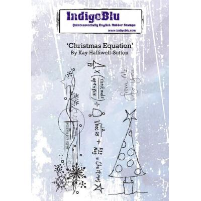 IndigoBlu Rubber Stamps - Christmas Equation