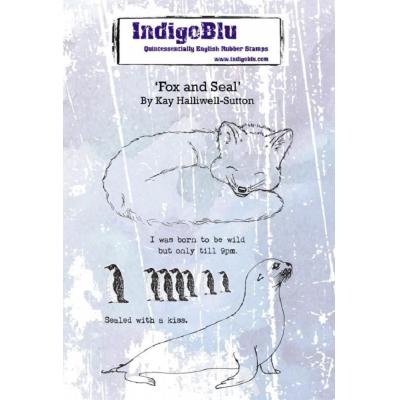 IndigoBlu Rubber Stamps - Fox and Seal