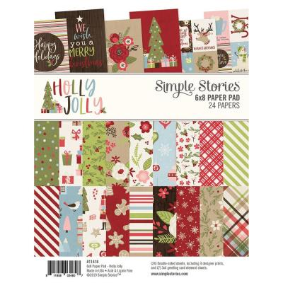 Simple Stories Holly Jolly - Paper Pad