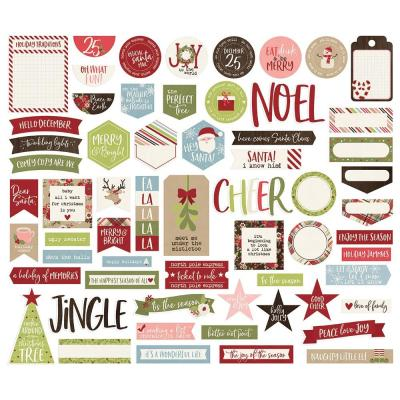 Simple Stories Holly Jolly - Bits & Pieces Die-Cuts