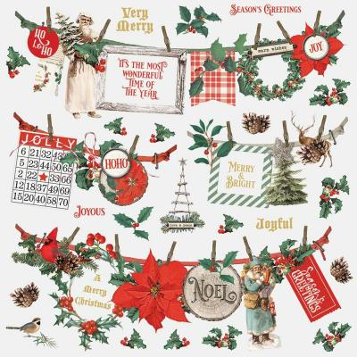 Simple Stories Country Christmas - Cardstock Stickers
