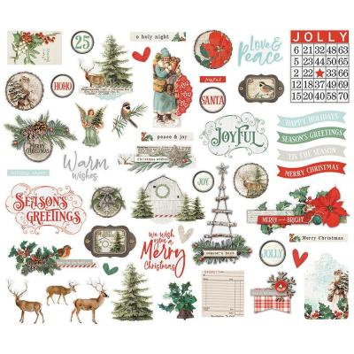 Simple Stories Country Christmas Die Cuts - Bits & Pieces