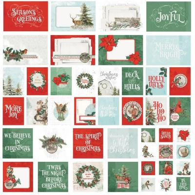 Simple Stories Country Christmas Karten - Card Pack