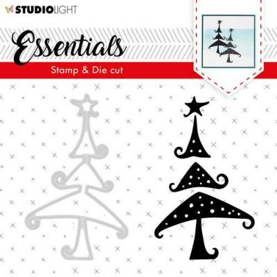 Studio Light Clear Stamp and Die Essentials Silhouettes Nr 36