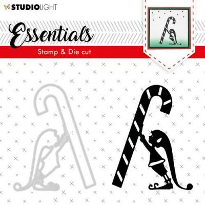 StudioLight Clear Stamp and Die Essentials - Silhouettes Nr 33