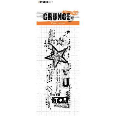 StudioLight Grunge Collection 3.0 Clear Stamp - Star