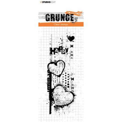 StudioLight Grunge Collection 3.0 Clear Stamp - Nr. 410