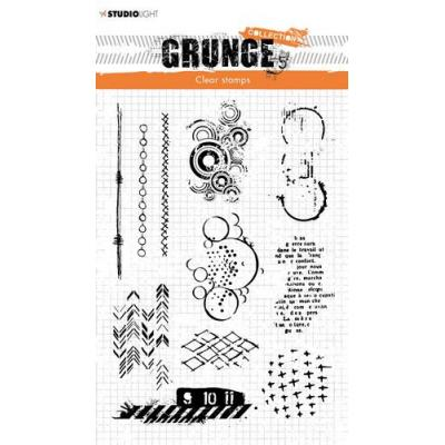 StudioLight Grunge Collection 3.0 Clear Stamps - Nr. 409