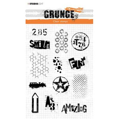 StudioLight Grunge Collection 3.0 Clear Stamps - Nr. 408