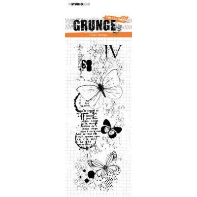 Studio Light Grunge Collection 3.0 Clear Stamp - Schmetterlinge