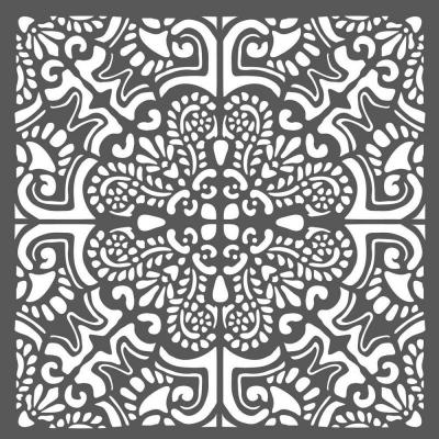 Stamperia Thick Stencil - Azulejos Tiles