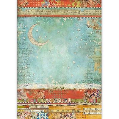 Stamperia Rice Paper - Moon