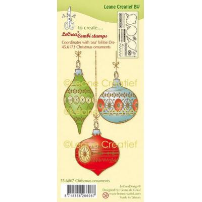 Leane Creatief Clear Stamps - Ornamente