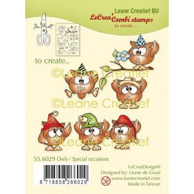 Leane Creatief Clear Stamps - Eule