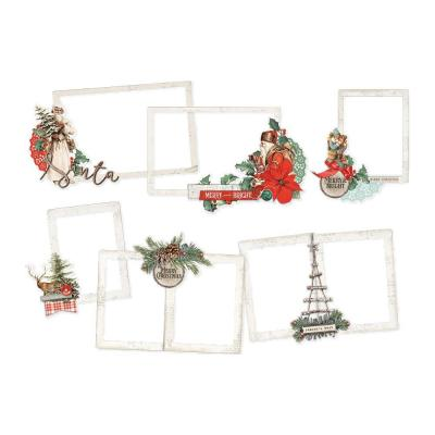 Simple Stories Country Christmas Die Cuts - Layered Frames