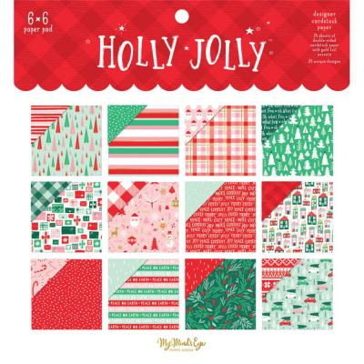 My Mind's Eye Holly Jolly Designpapier - Paper Pad