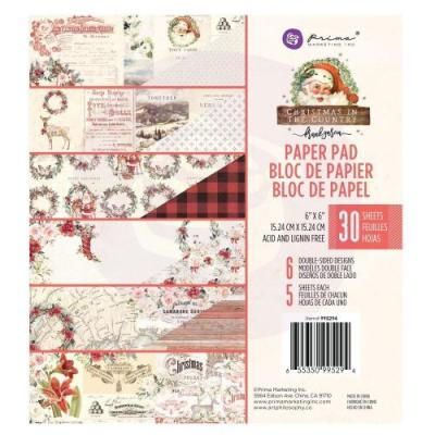 Prima Marketing Christmas In The Country - Paper Pad