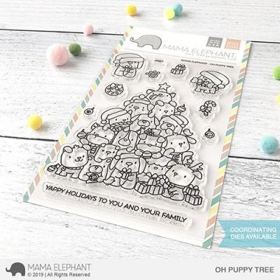 Mama Elephant Clear Stamps - Oh Poppy Tree