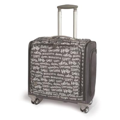 We R Memory Keepers - Crafter's trolley bag charcoal