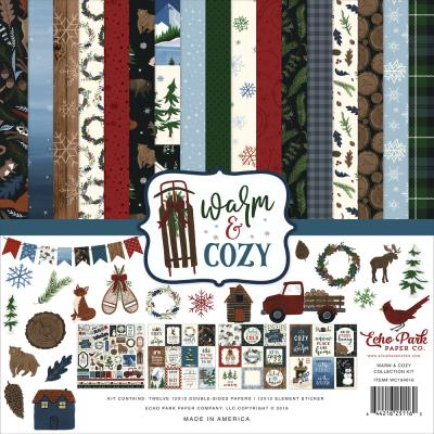Echo Park Warm & Cozy Designpapier - Collection Kit
